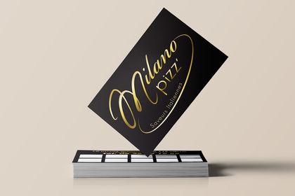 Création d'un logo et de cartes de visite