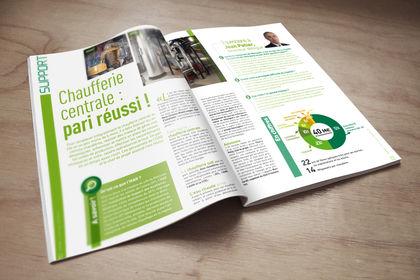 Magazine interne du CEA MARCOULE
