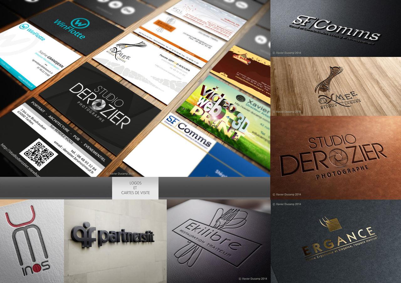 Logos et Cartes de visite