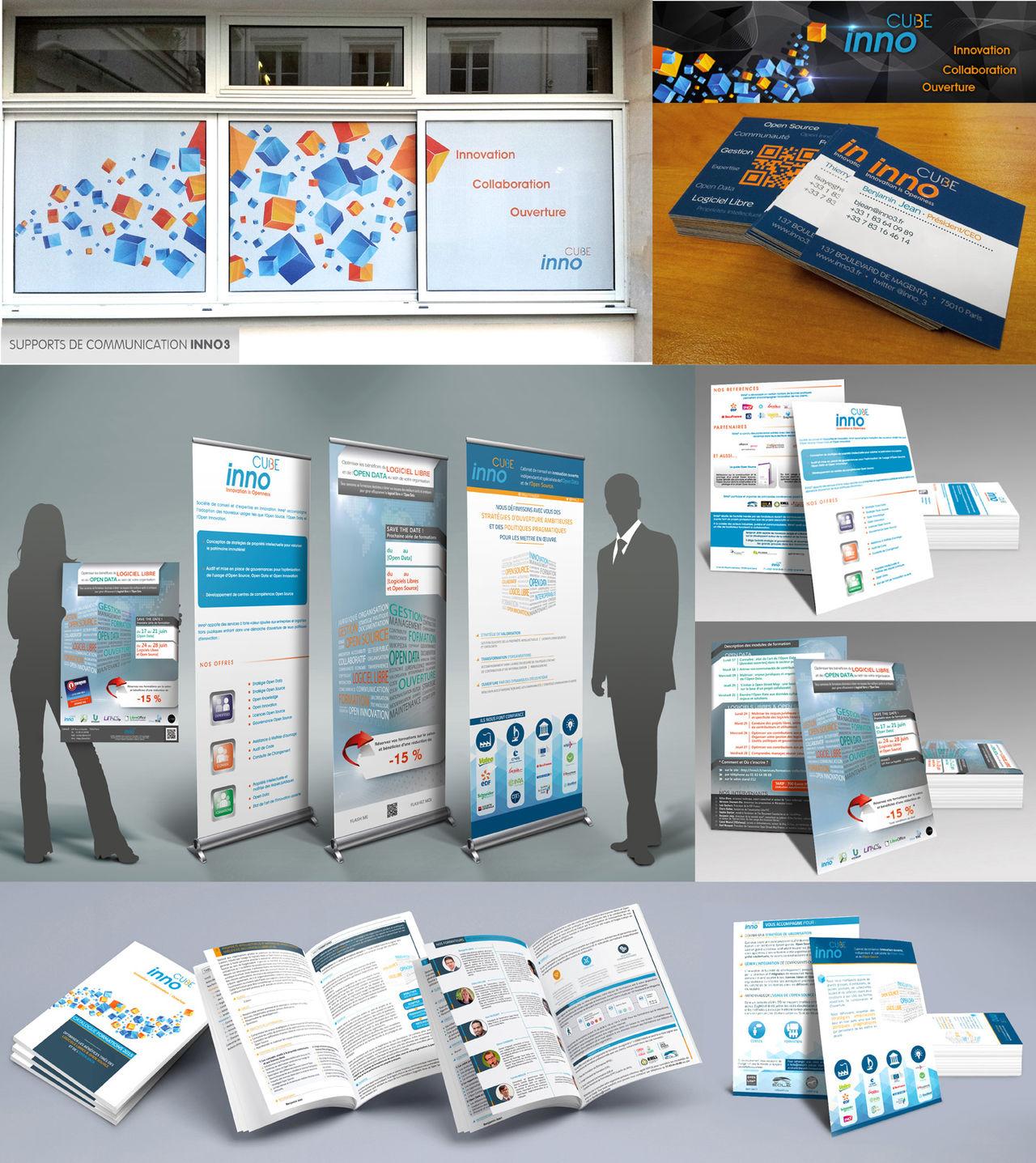 Supports de communication pour Inno3