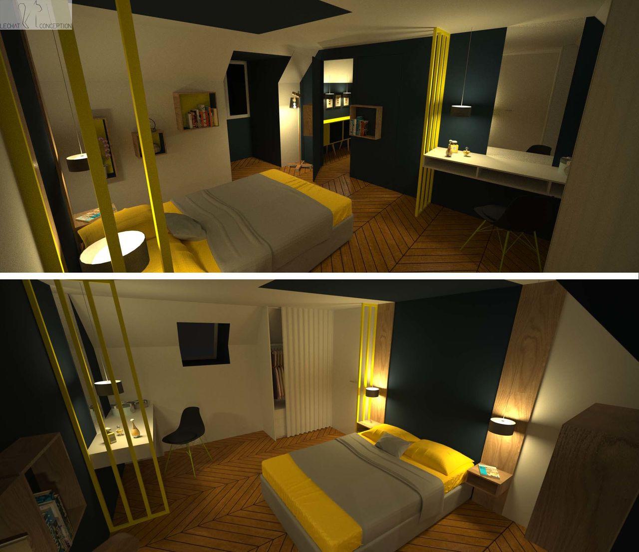3D suite parentale / Concept 1