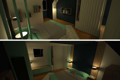 3D Suite parentale / Concept 2