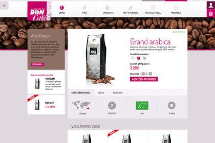 E-commerce La Maison du Bon Café