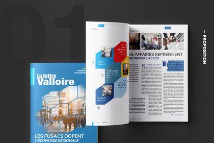 Création/Refonte Maquette Magazine Éco