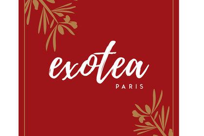 Logo et charte graphique Exotea Paris