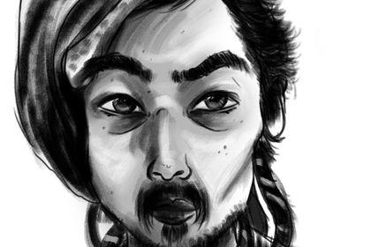 Illustration numérique - portrait