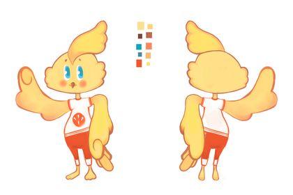 Création personnage livre enfant Léo