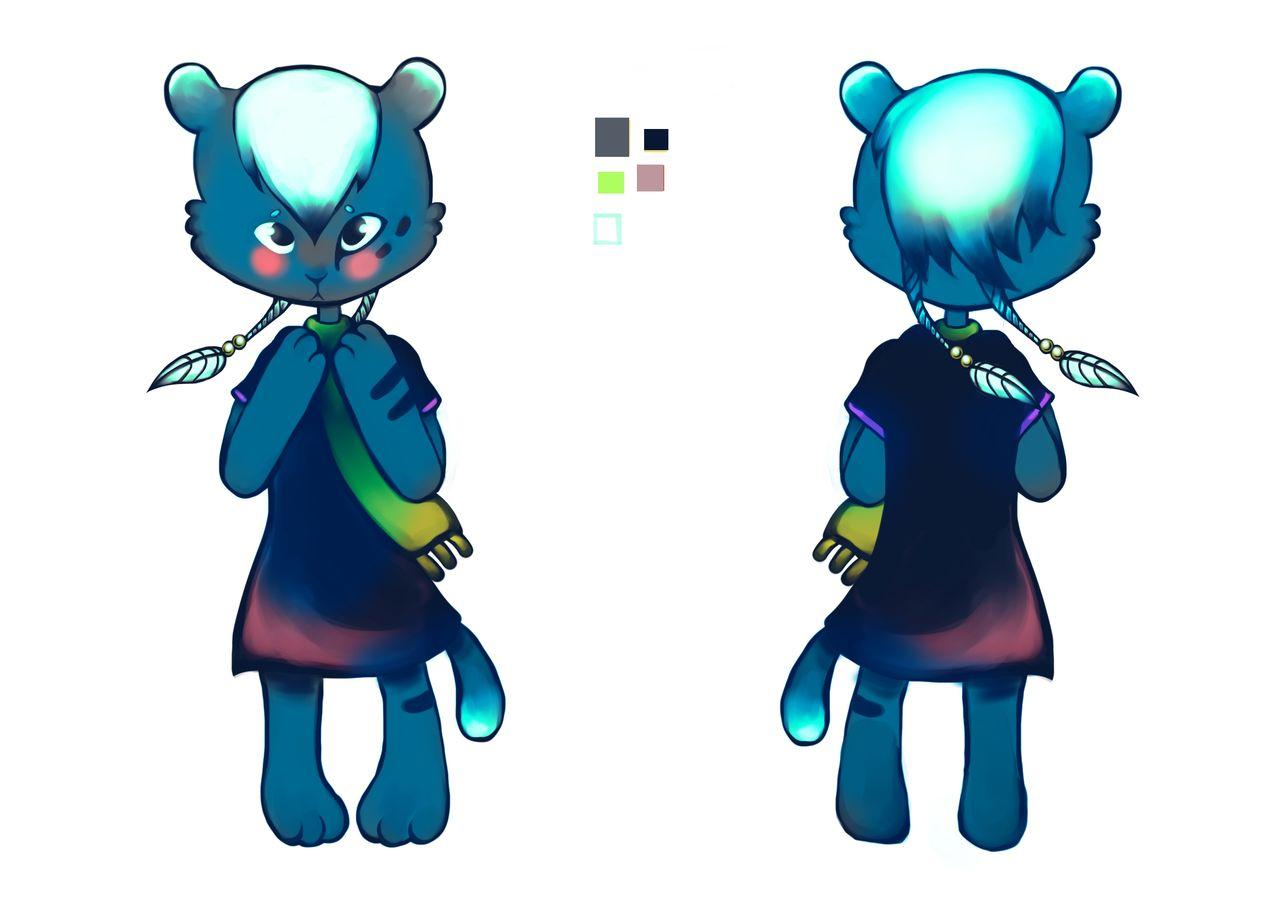 Création de personnage pour livre enfant