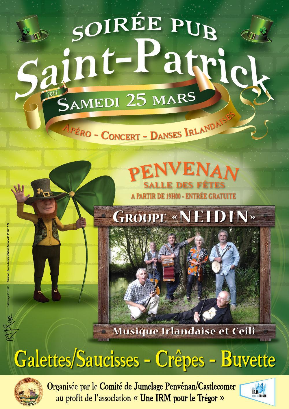 Affiche St-Patrick