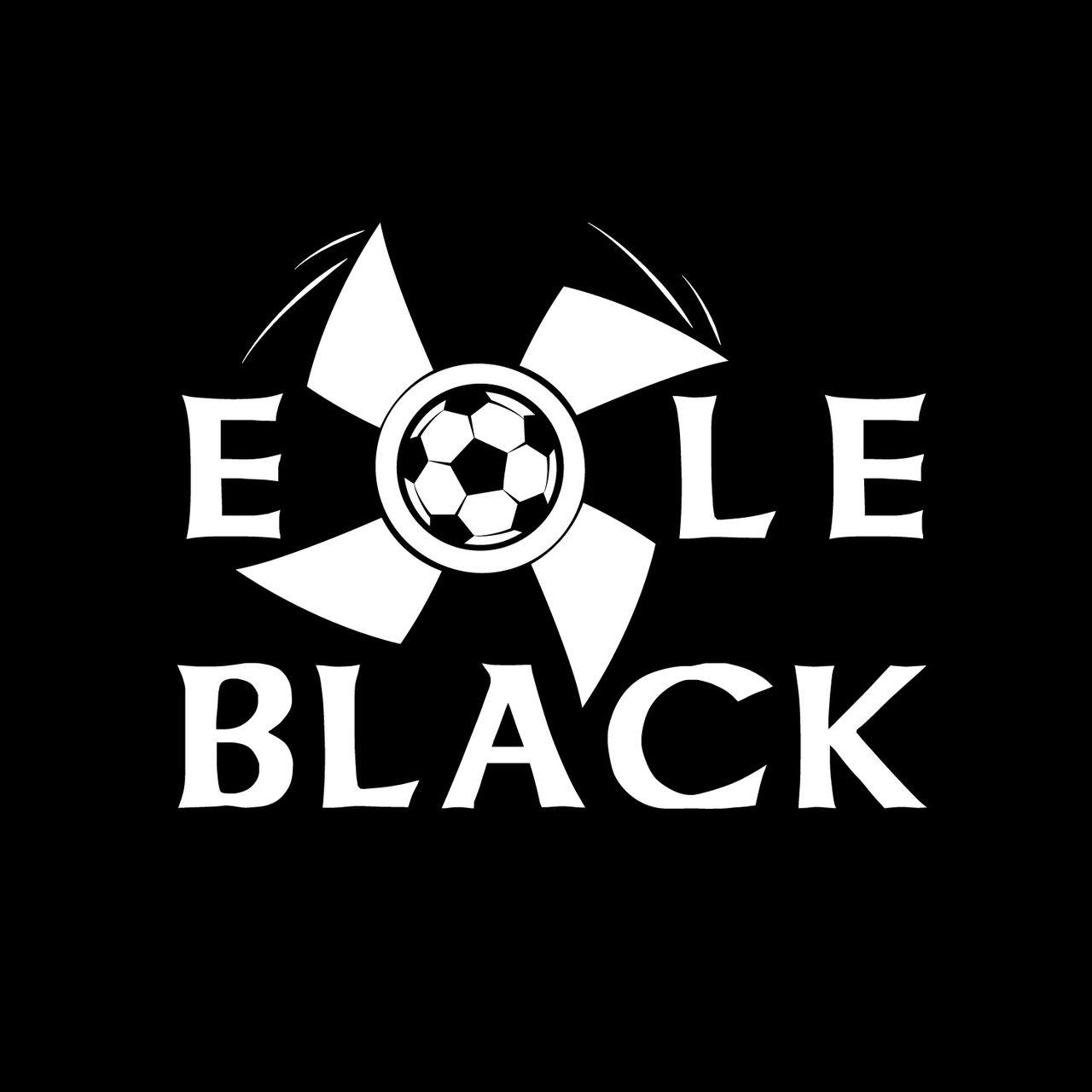 """Logo de footbal """"Eole Black"""""""