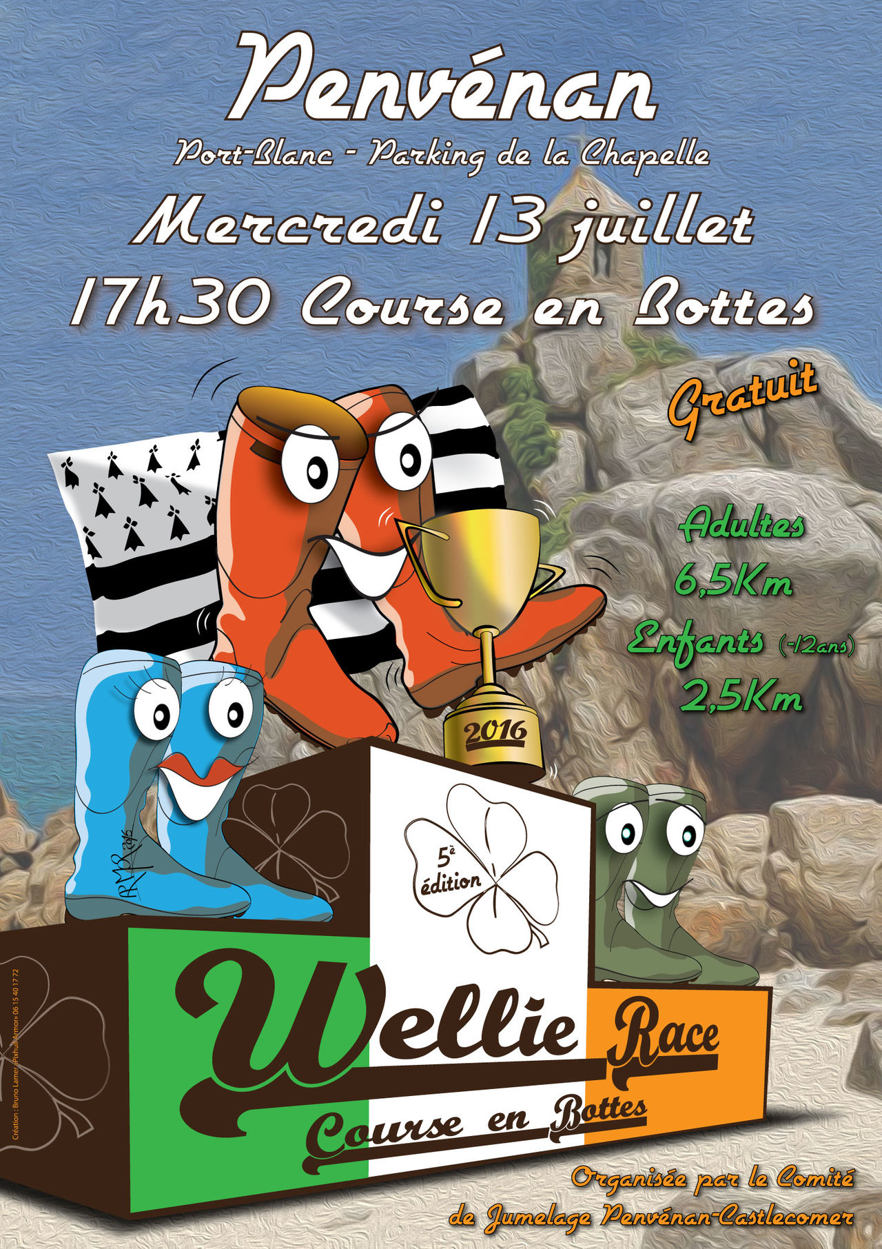Affiche de la Welly Race 2016
