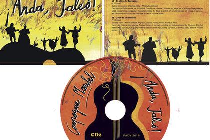 Maquette et illustrations pour double CD musique