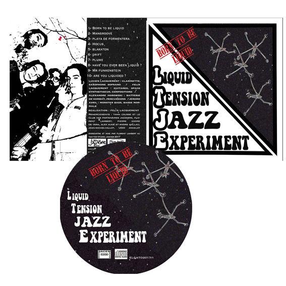 Maquette de pochette de CD