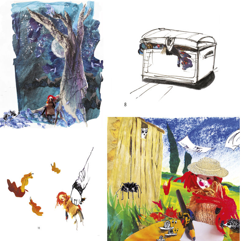 Illustrations album pour enfants