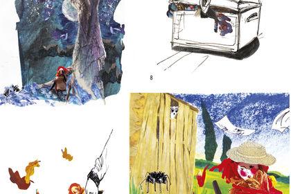 Illustrations album pour enfants