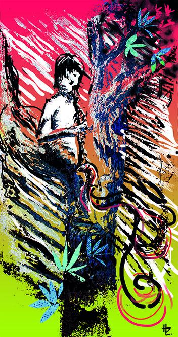 Illustration festival de Jazz