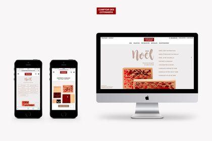 Page web Noël 2017 - Comptoir des cotonniers