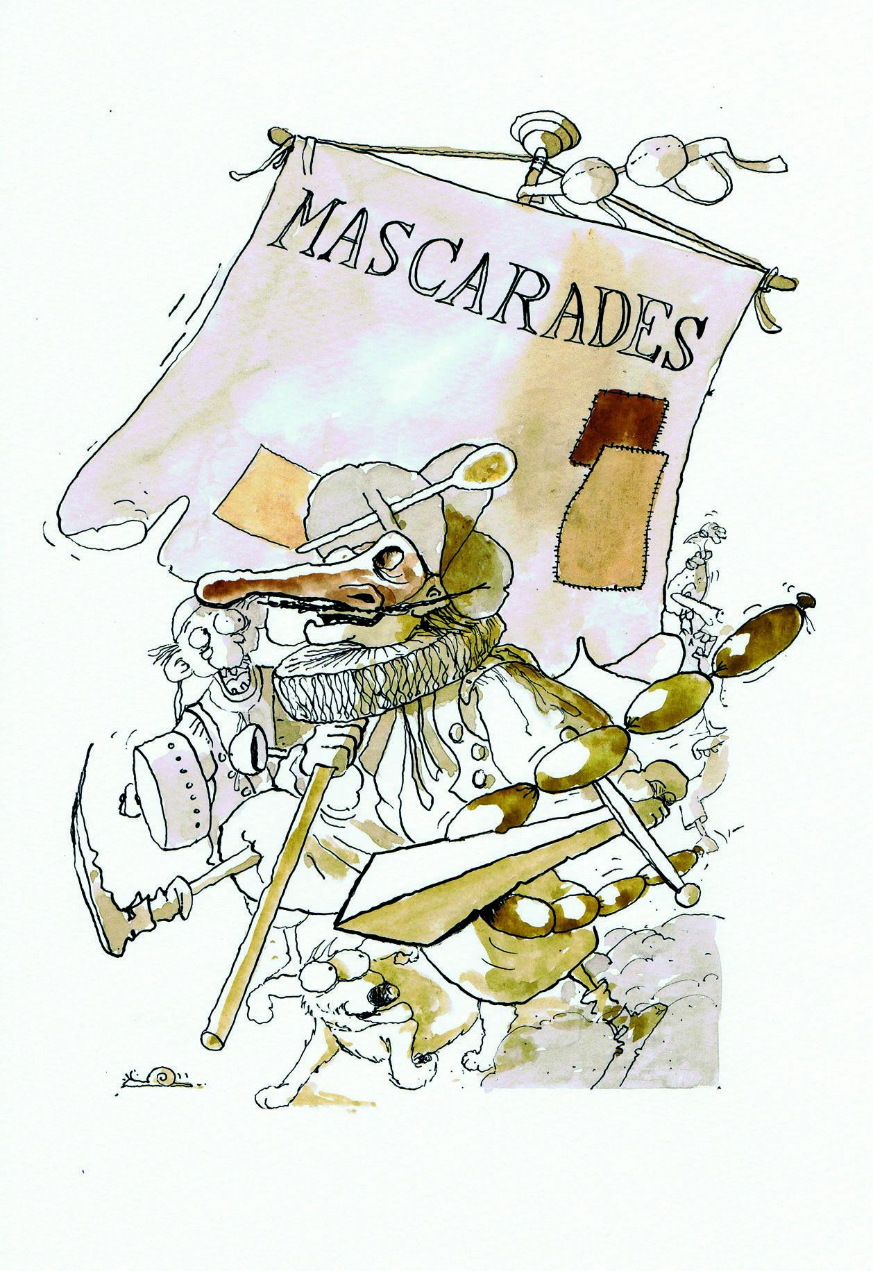 Page titre Mascarades