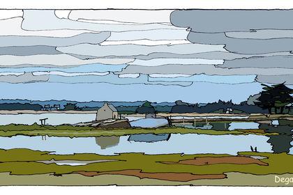 Le moulin à marée de l'Île d'Arz