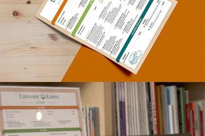 Identité Visuelle - Librairie CoLibirs