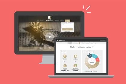 WealthInitiative, plateforme d'achat/vente
