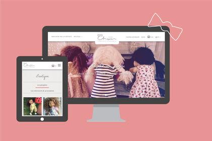 Poupées Chaperon : site e-commerce