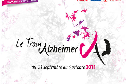 """""""Le train Alzheimer"""" Train expo évènement SNCF"""