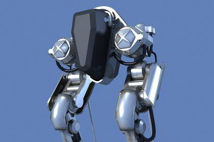Modelisation 3d pour etude d'un robot 01