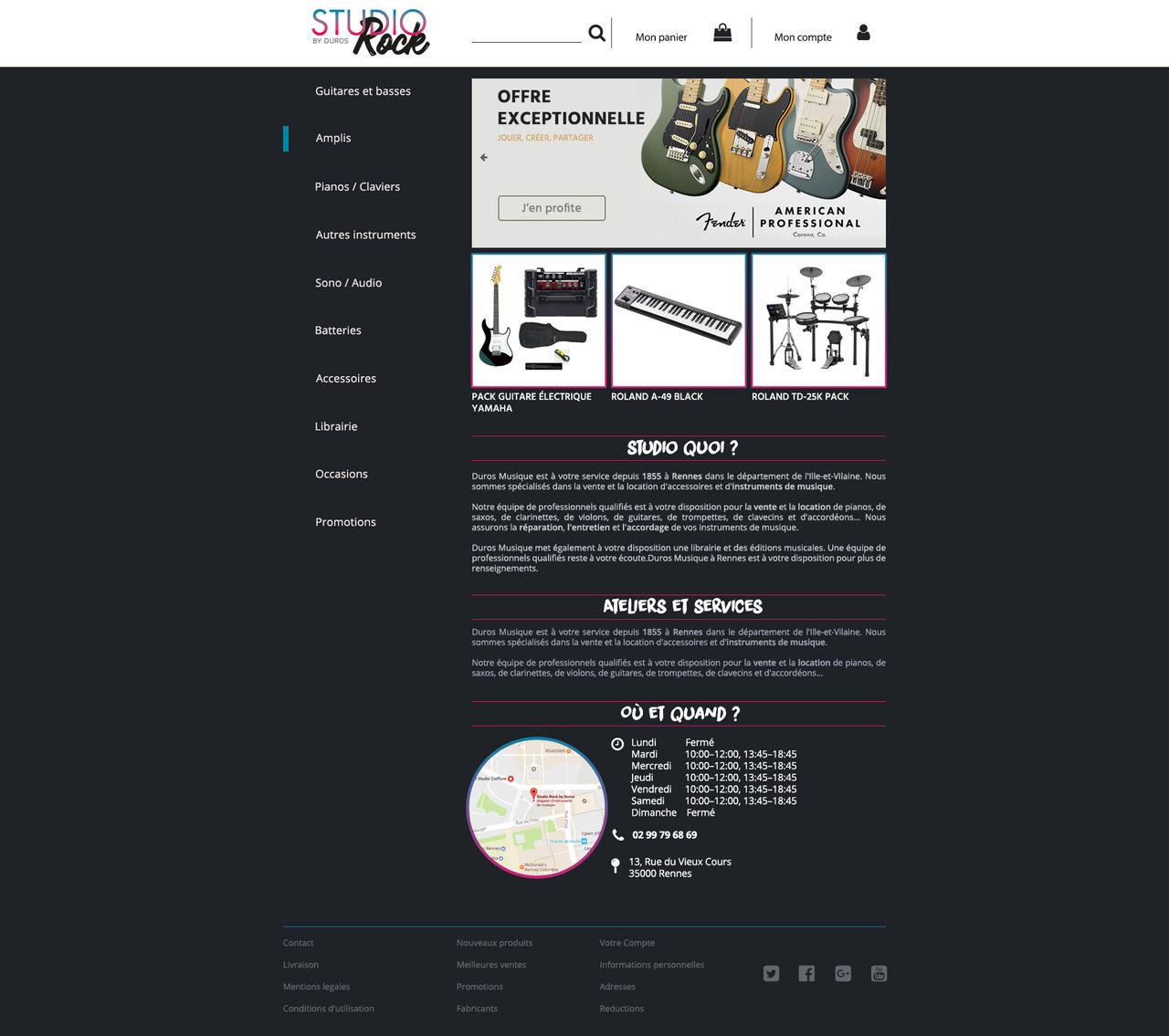 Webdesign Studio Rock