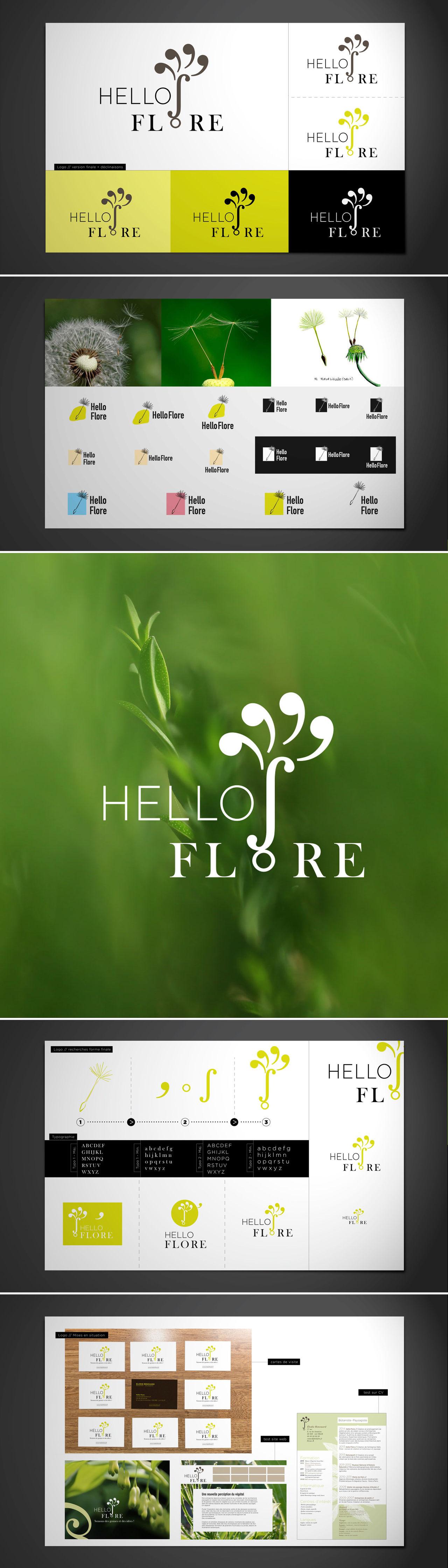 Logo : HelloFlore