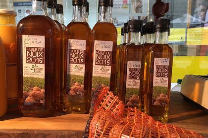 Packaging huile de noix