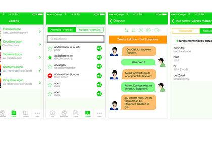 Application ios pour apprendre les langues