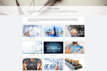 Refonte graphisme site Web