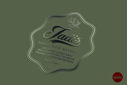 Etiquette et nom de produit Jadis