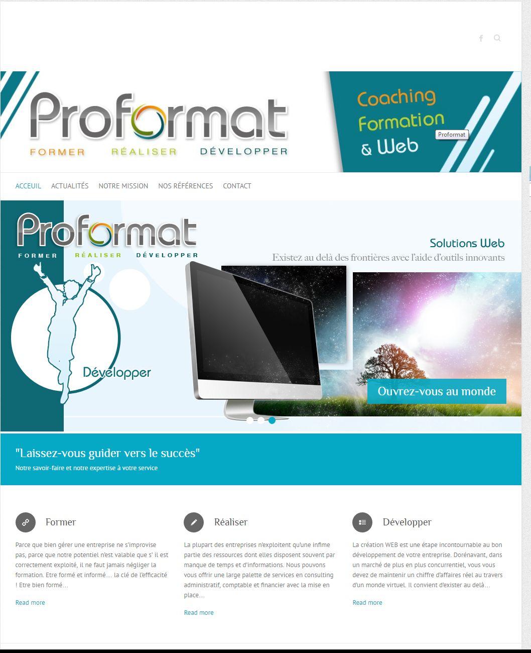 Création de sites web, Coaching, Formation