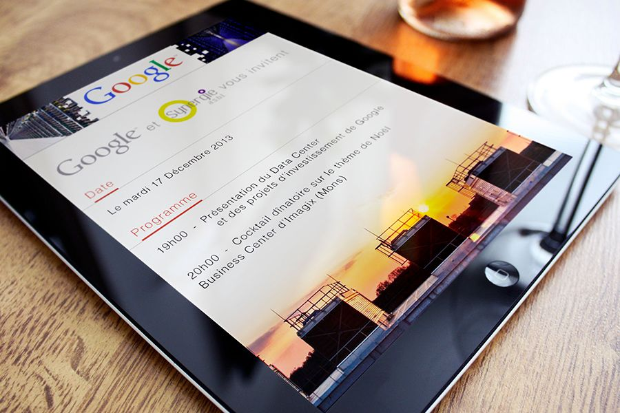 Newsletter pour Google