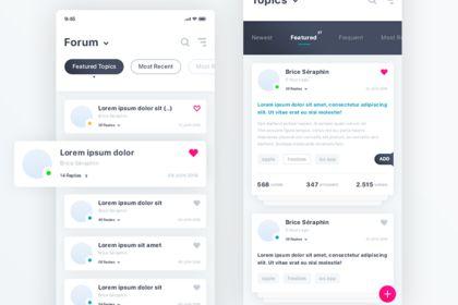 Forum. IOS App