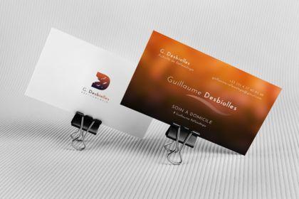 Business Card. Reflexology
