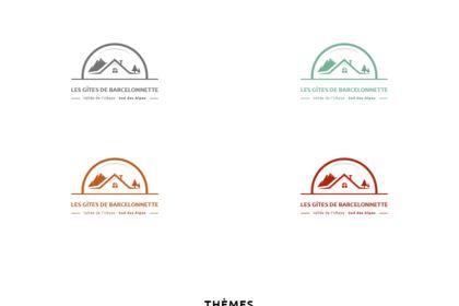 Les Gîtes de Barcelonnette. Logo / Branding