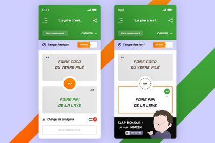 Minixem. Gaming App UI / UX