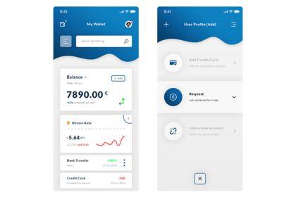 Wallet & User Profile Add. App