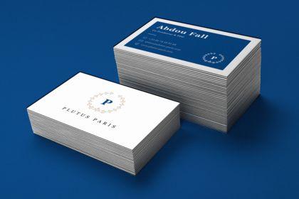 Plutus Paris. Business Card