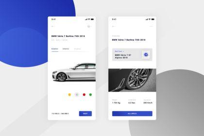BMW. IOS App