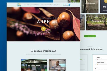 AMNP. Landing Page