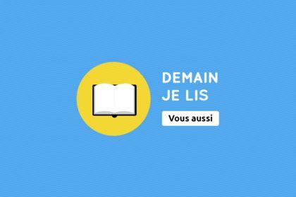 Demain Je Lis. Logo