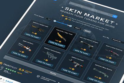 CS:GO Skins. HomePage
