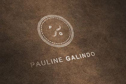 Pauline Galindo. Logo