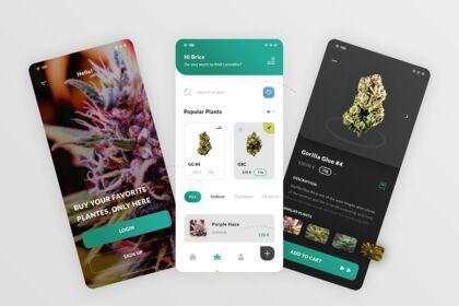 Cannabis. Hybrid App