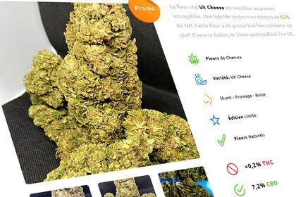 Product Page. CBD Shop