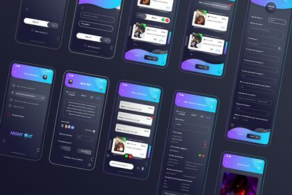 Night Out. Hybrid App